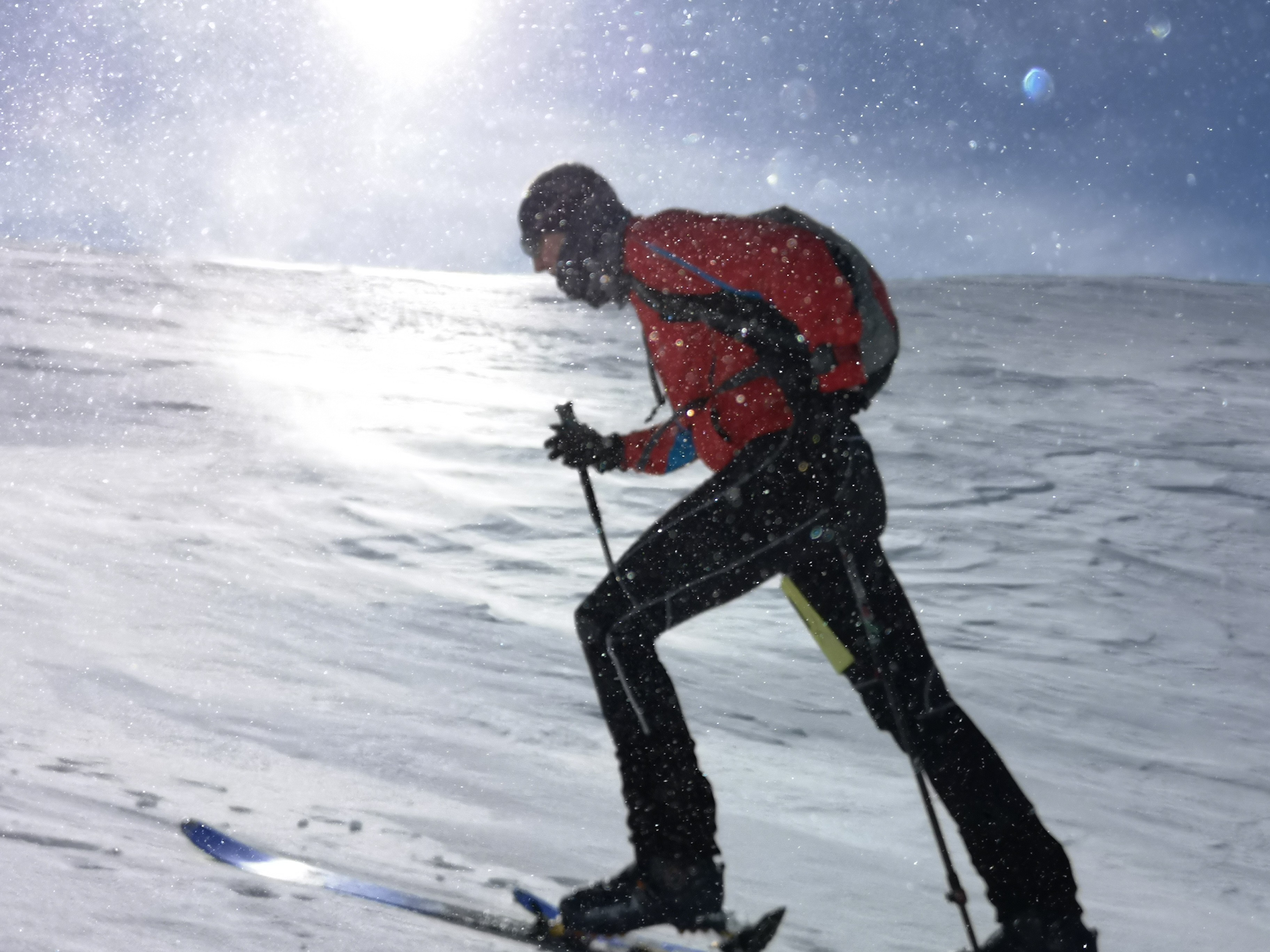 Schneeberg Schitouren Rennen Schneegestöber