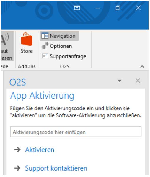 Aktivierungsdialog von Office 2 SharePoint