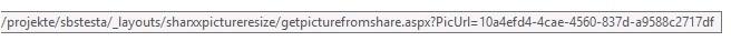 SharePoint URL um Bild vom externen FileShare zu holen