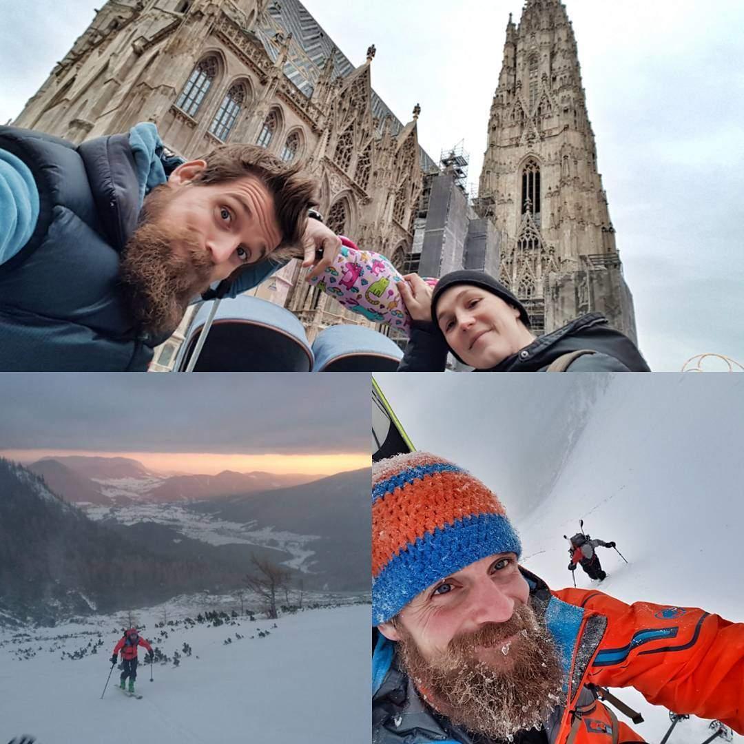 #lifeworktrailbalance - Samstag von 04:00 - 08:00 am Berg und gleich im Anschluss in Wien zum Familienausflug
