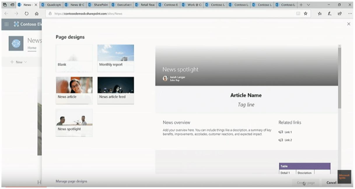Custom News Page