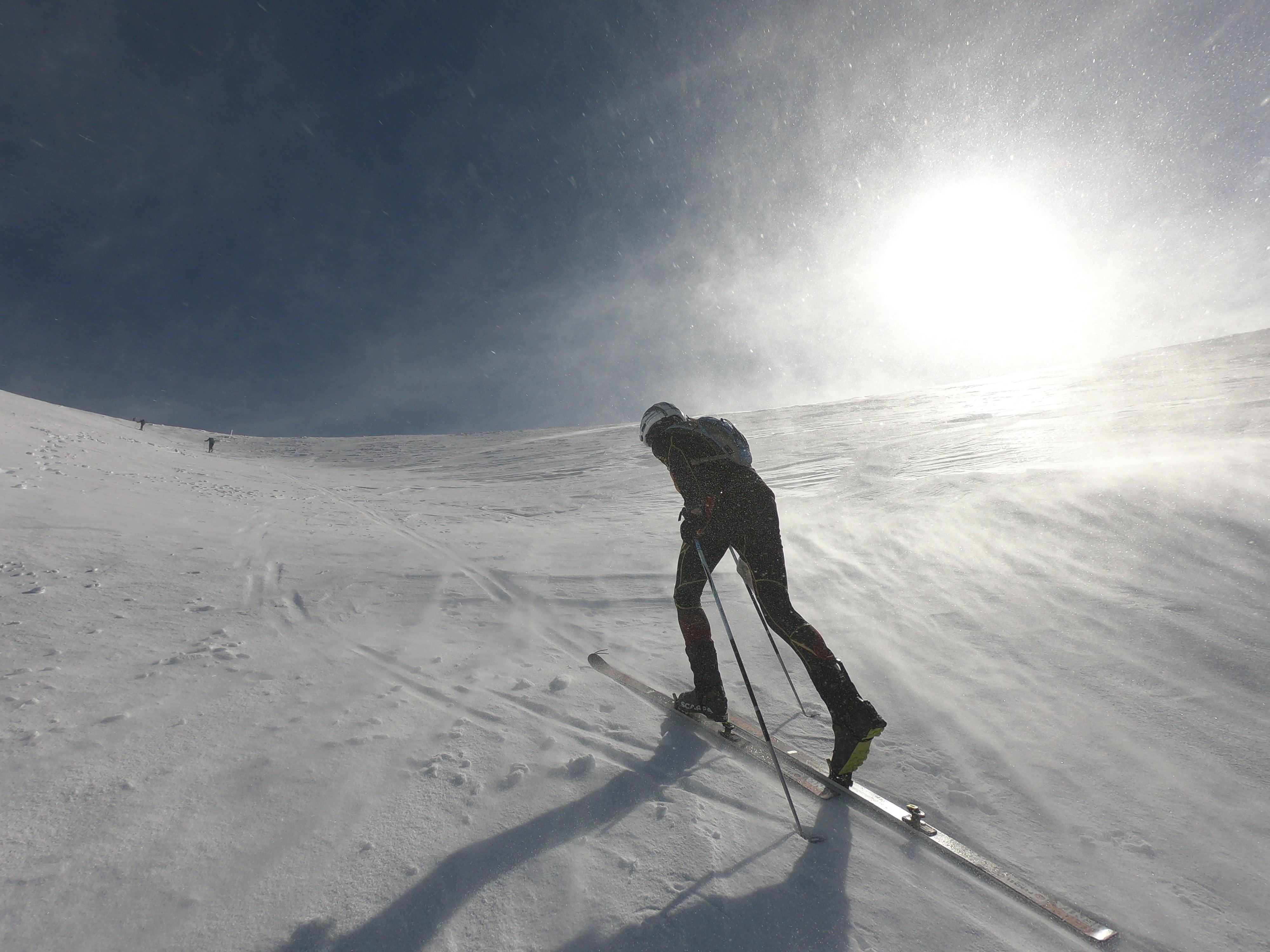 Schitouren Rennen am Schneeberg