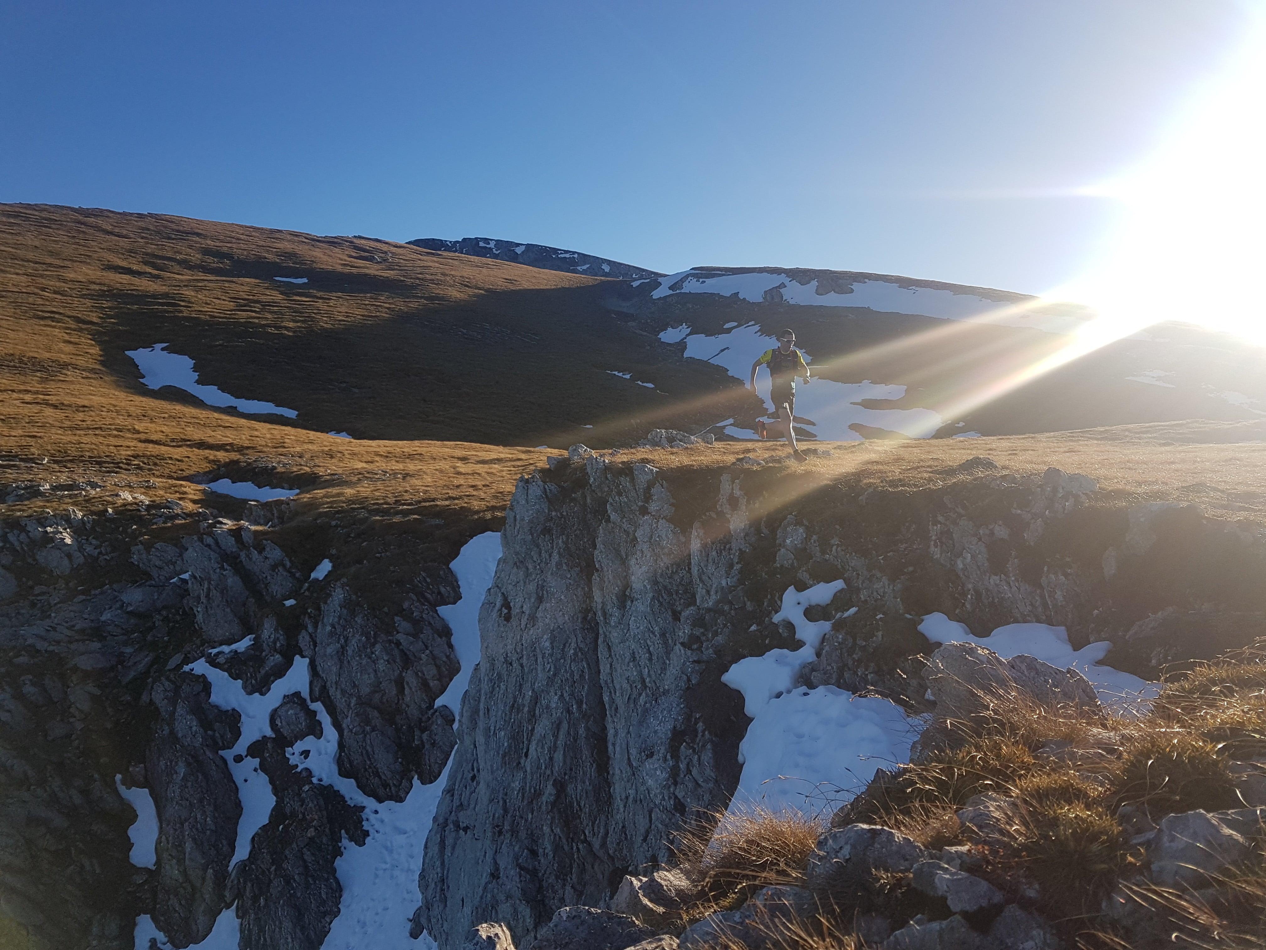 Michael Kabicher beim Trailrunning am Schneeberg