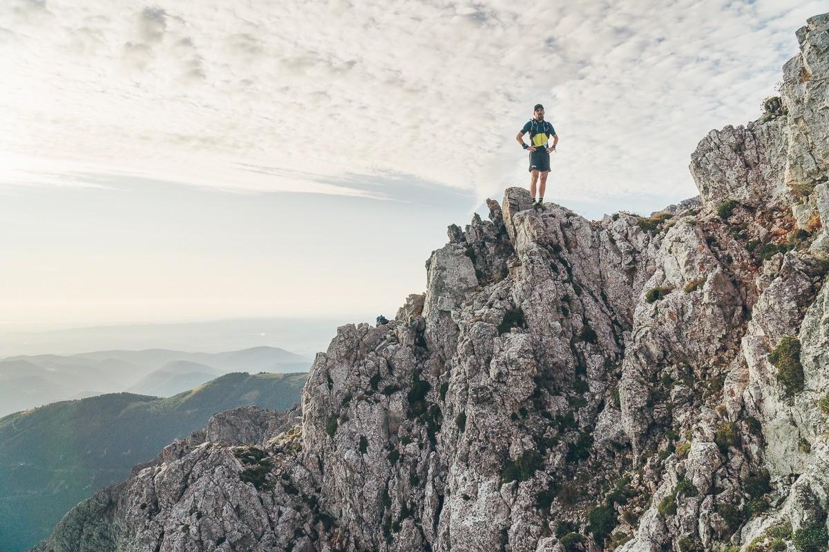 Florian Grasel Trailrunning Schneeberg Novembergrat