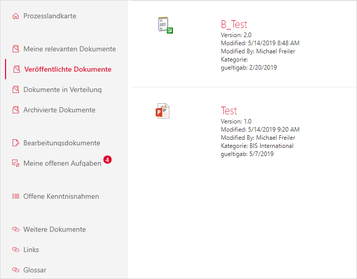 Notification for new entries in a SharePoint library