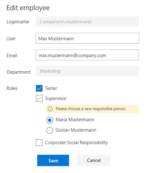 Recurring tasks in SharePoint edit employee