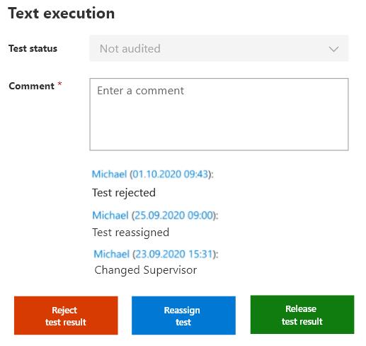 Recurring tasks in SharePoint Testexecution Supervisor