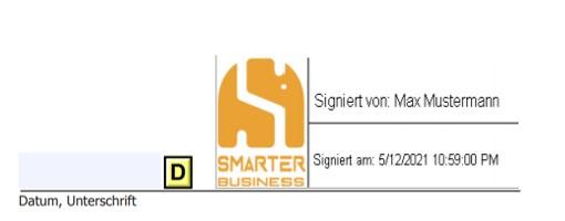 SharePoint Digitale Unterschrift: Signiertes Dokument