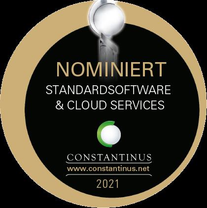 TagTeam ist nominiert für den Constantinus Award 2021 in der Kategorie Standardsoftware & Cloud Services