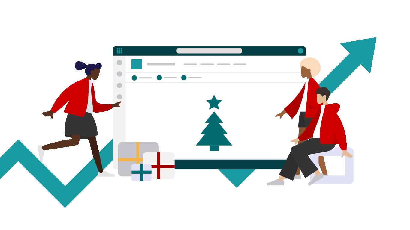Smarter Adventkalender - Kostengünstig und innovativ den Intranet-Traffic erhöhen
